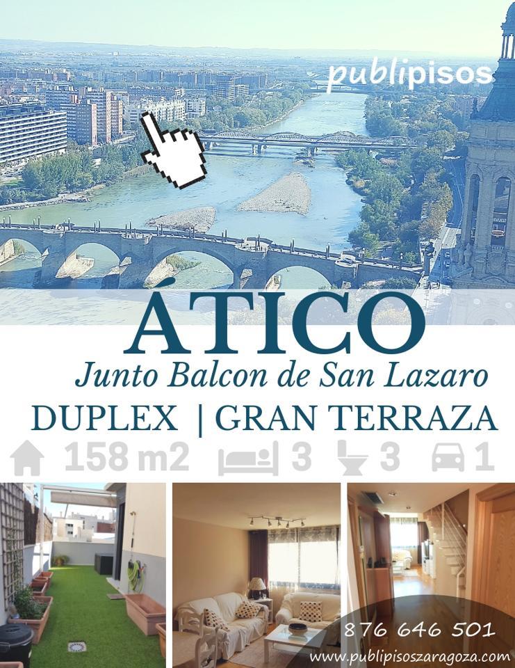 Ático Duplex Zaragoza Paseo de la Ribera