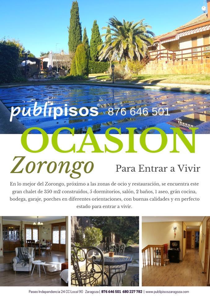Chalet Zorongo Ocasión Piscina-0