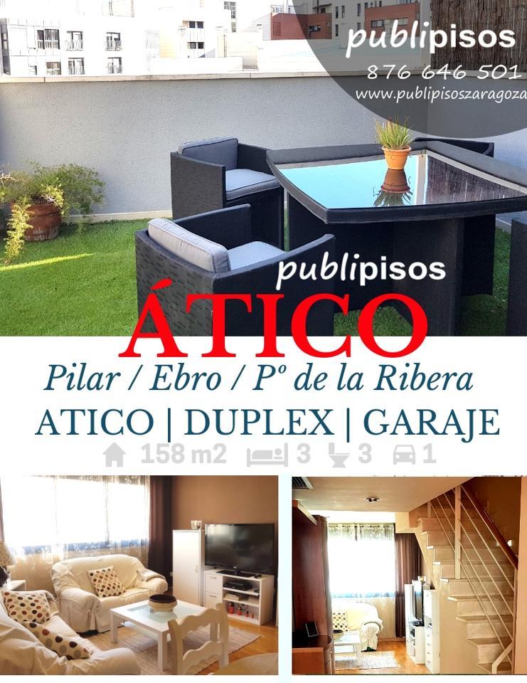 Atico junto balcón de San Lázaro / Publipisos Zaragoza