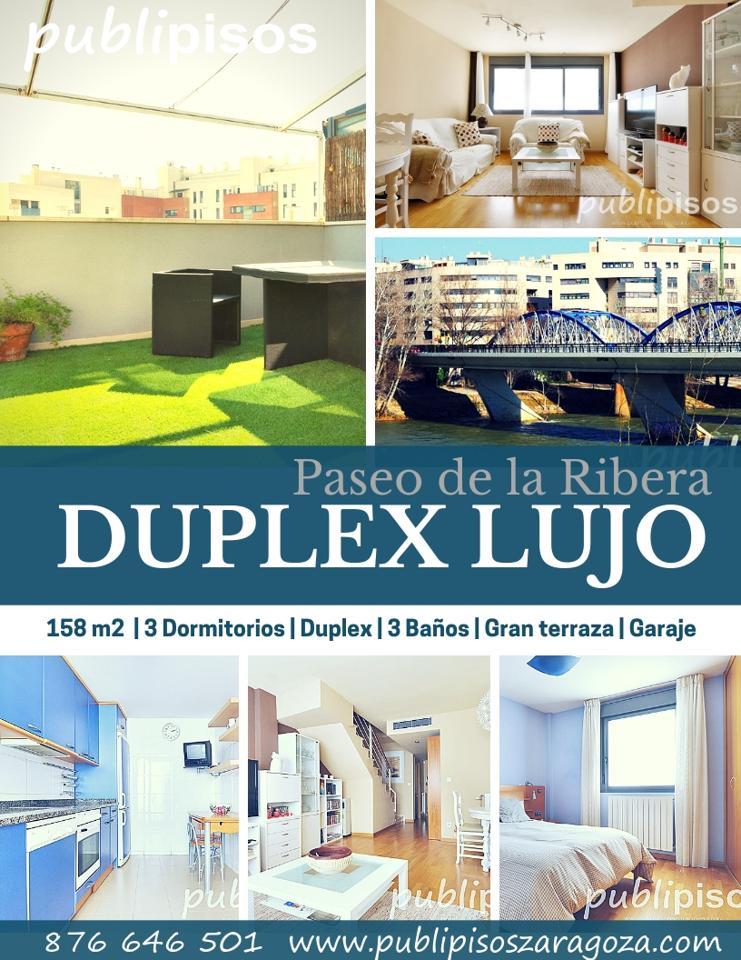 Duplex Lujo Paseo de la Ribera