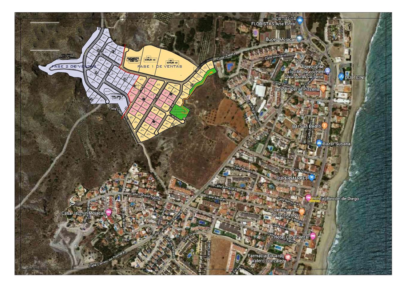 Terreno Calle Laguna, Mojácar