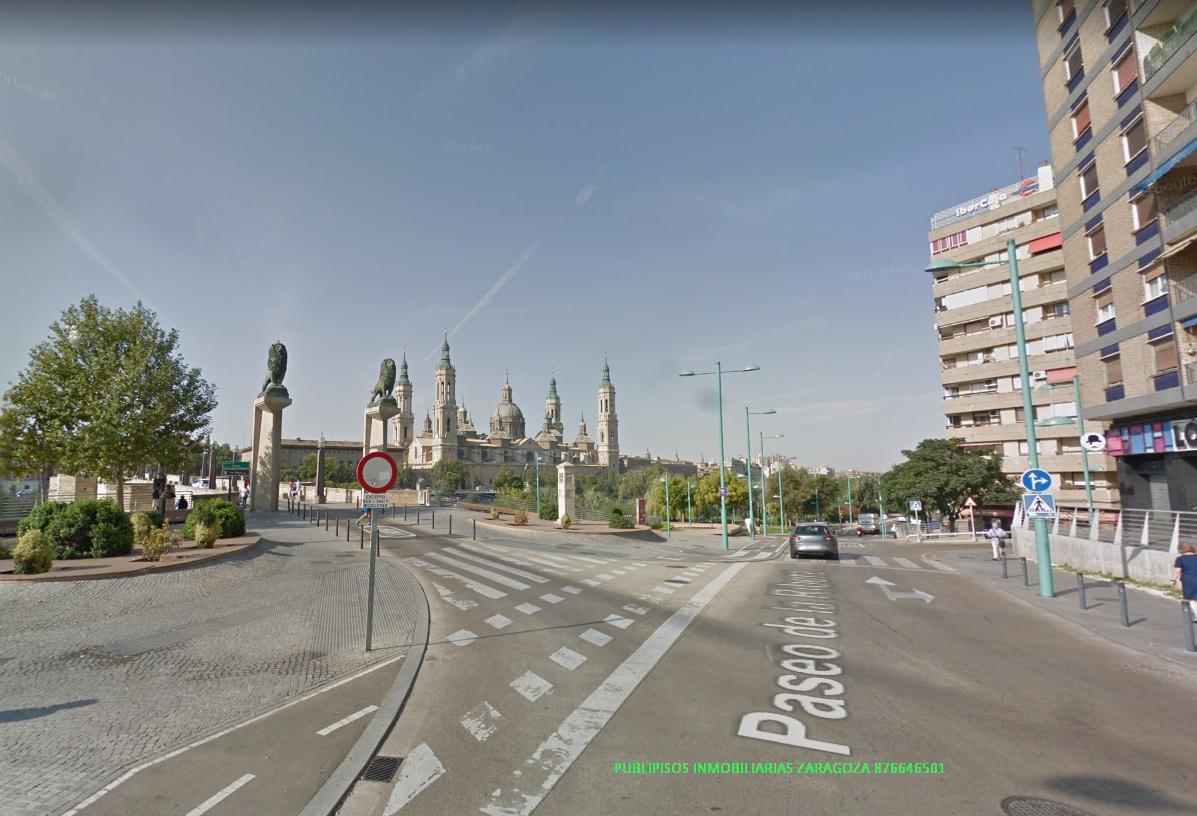 Piso alquiler calle Sobrarbe Zaragoza