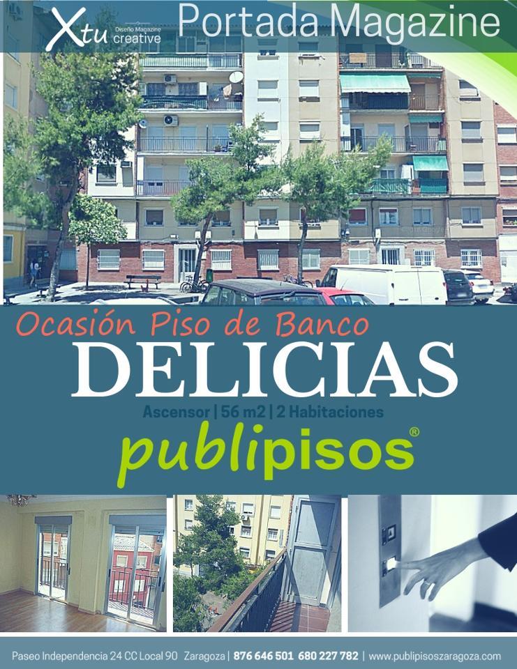 Piso de banco económico Delicias Zaragoza
