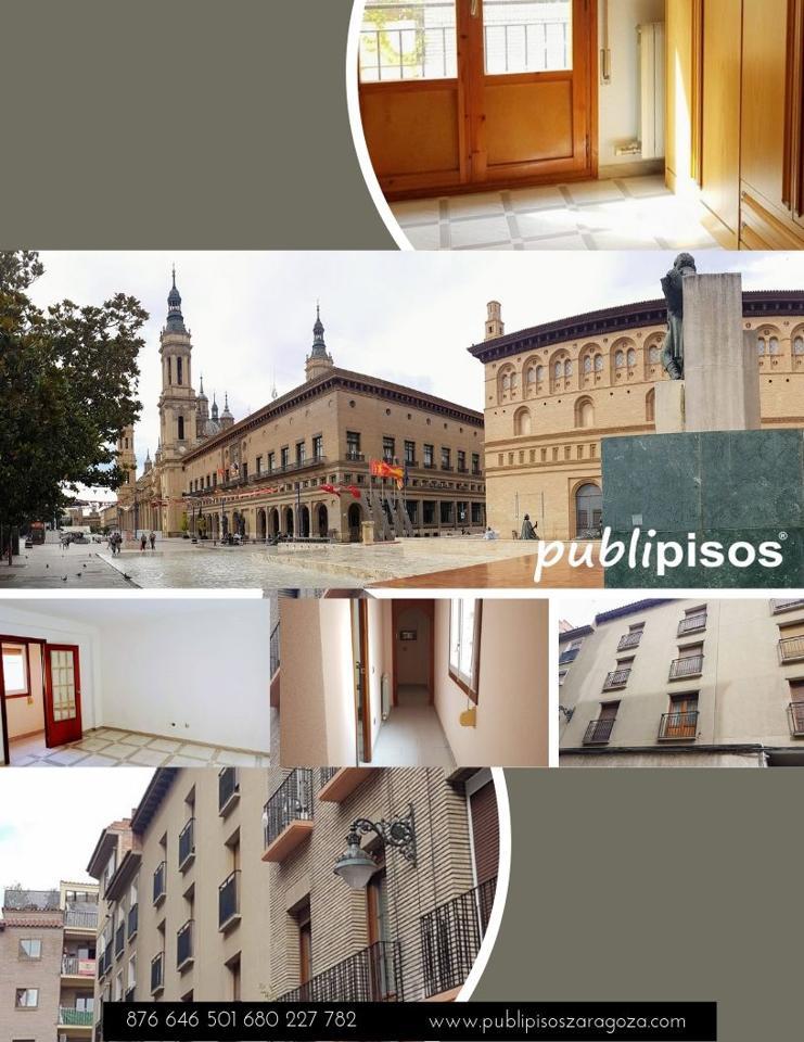Venta piso centro Histórico Zaragoza Calle Mayor