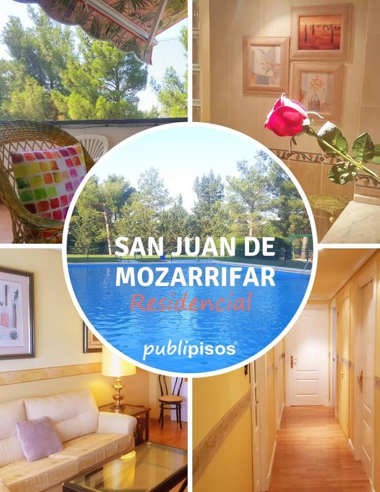 Venta Piso San Juan Mozarrifar Piscina Zaragoza