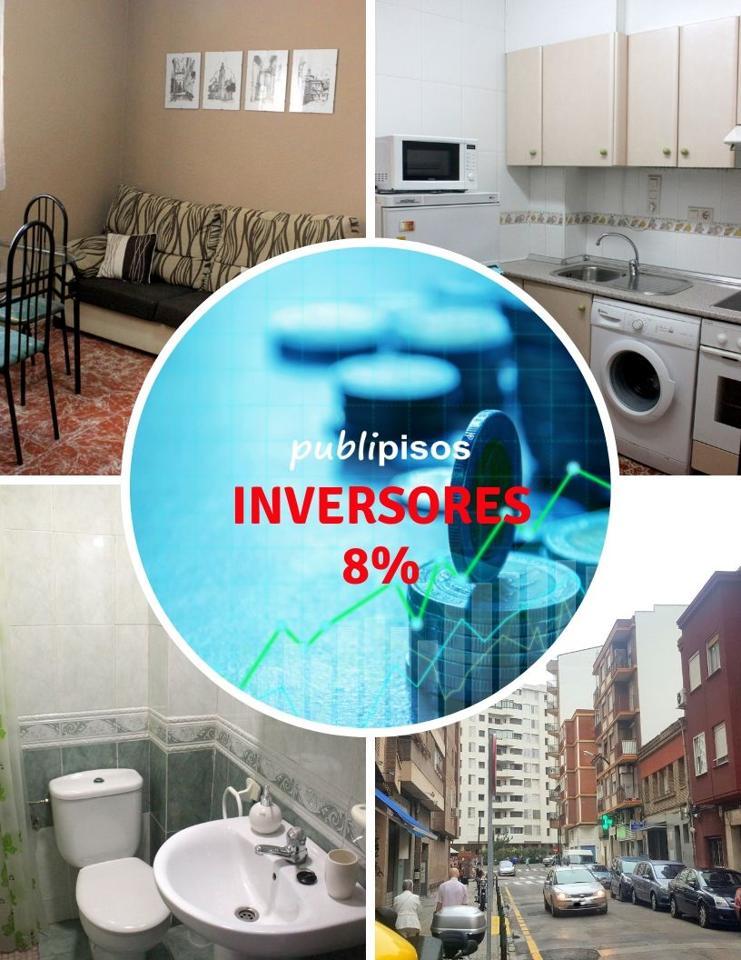 Piso para Inversores 8% rentabilidad Zaragoza
