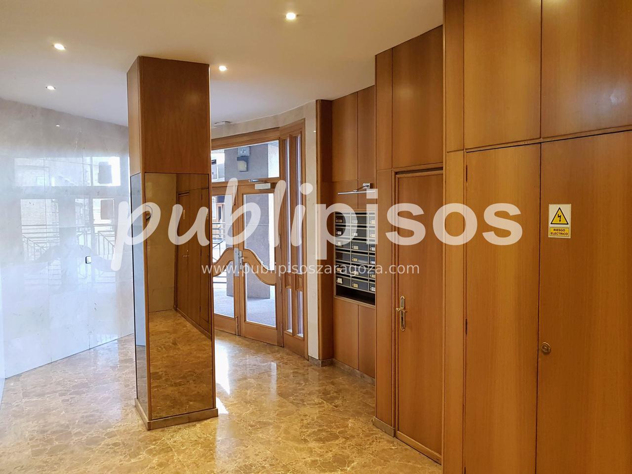 Piso alquiler con garaje y vistas centro Zaragoza-4