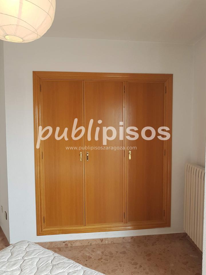 Piso alquiler con garaje y vistas centro Zaragoza-19