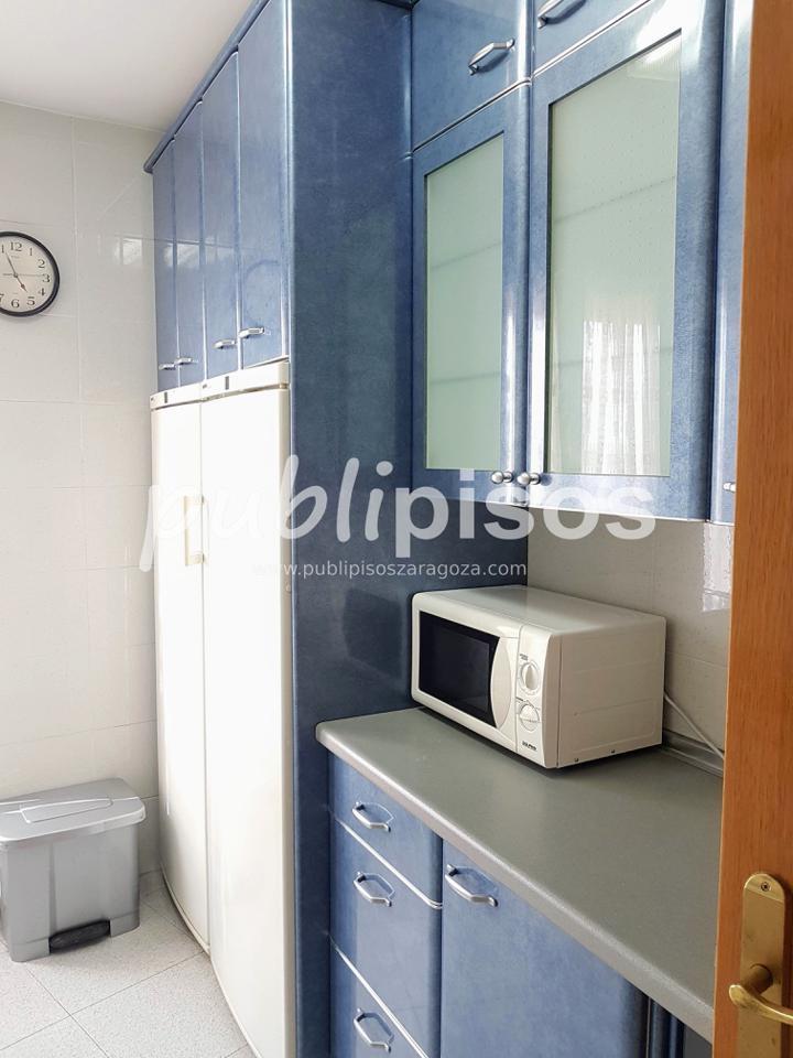 Piso alquiler con garaje y vistas centro Zaragoza-12