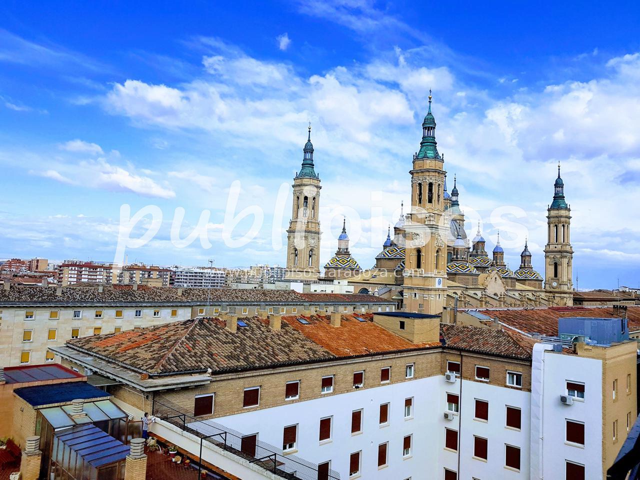 Piso alquiler con garaje y vistas centro Zaragoza-1