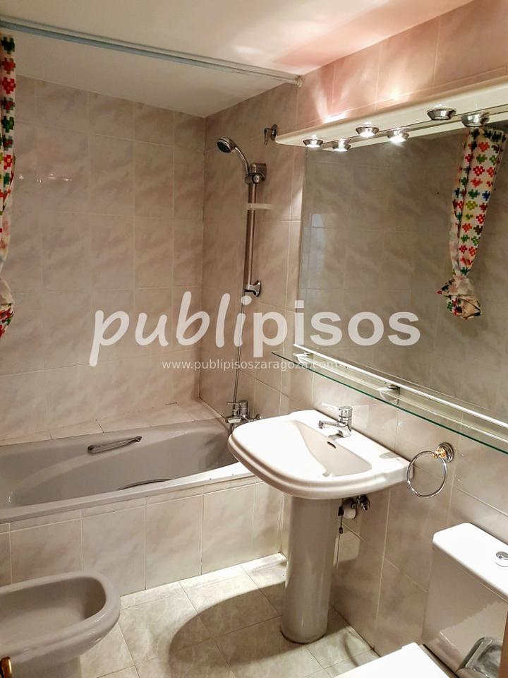 Piso alquiler con garaje y vistas centro Zaragoza-15