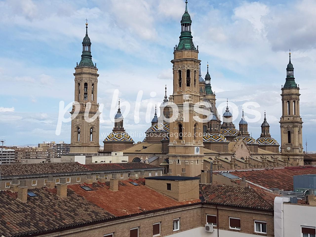 Piso alquiler con garaje y vistas centro Zaragoza-22