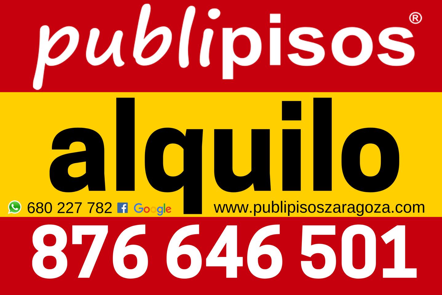 Piso alquiler con garaje Plaza del Pilar-32
