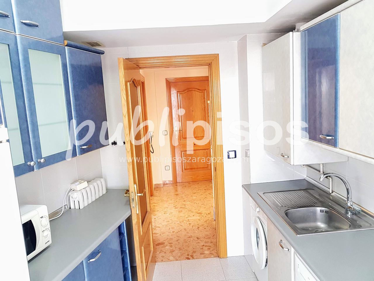 Piso alquiler con garaje y vistas centro Zaragoza-11