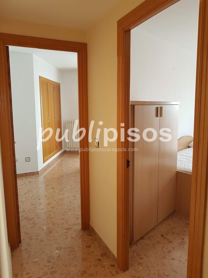 Piso alquiler con garaje y vistas centro Zaragoza-16