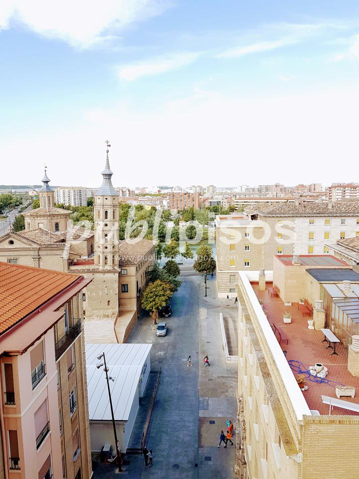 Piso alquiler con garaje y vistas centro Zaragoza-2