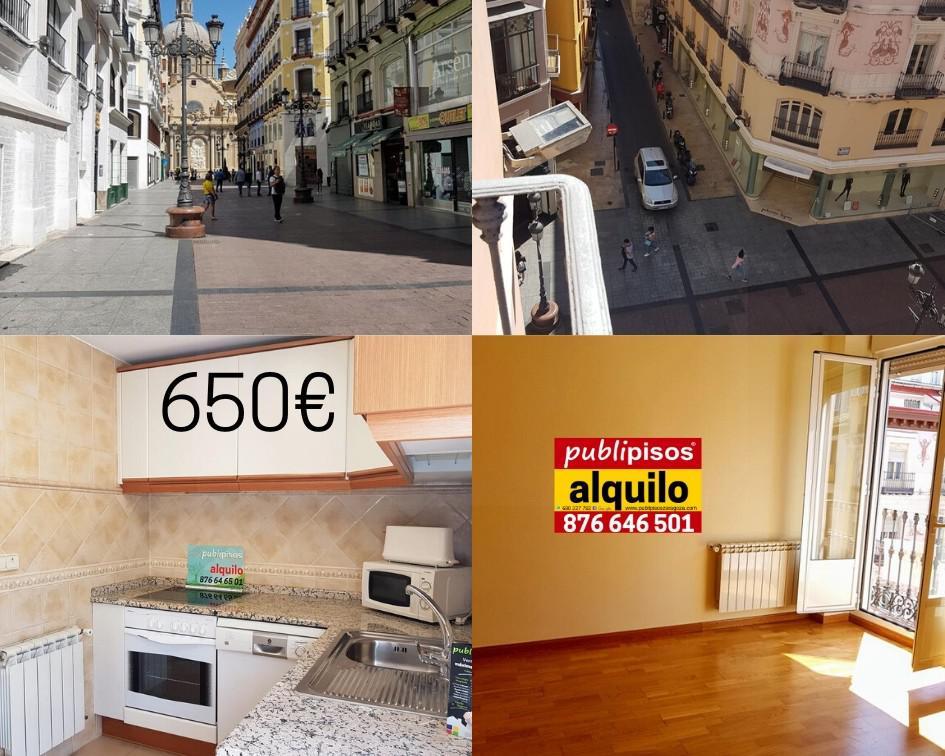 Piso alquiler centro Plaza del Pilar Zaragoza-23