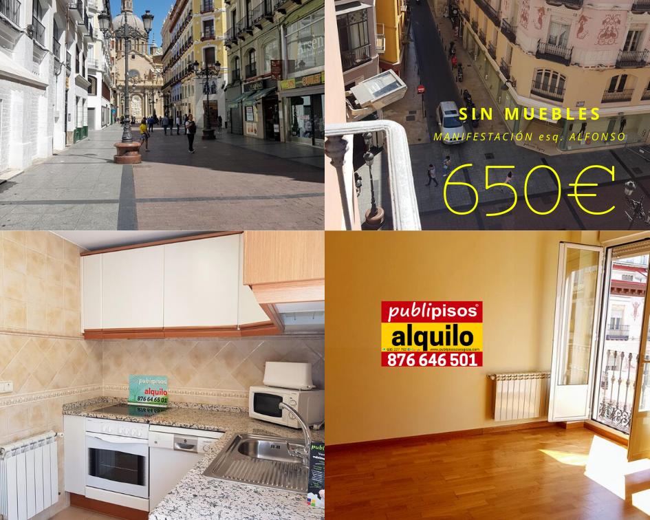 Piso alquiler centro Plaza del Pilar Zaragoza-22