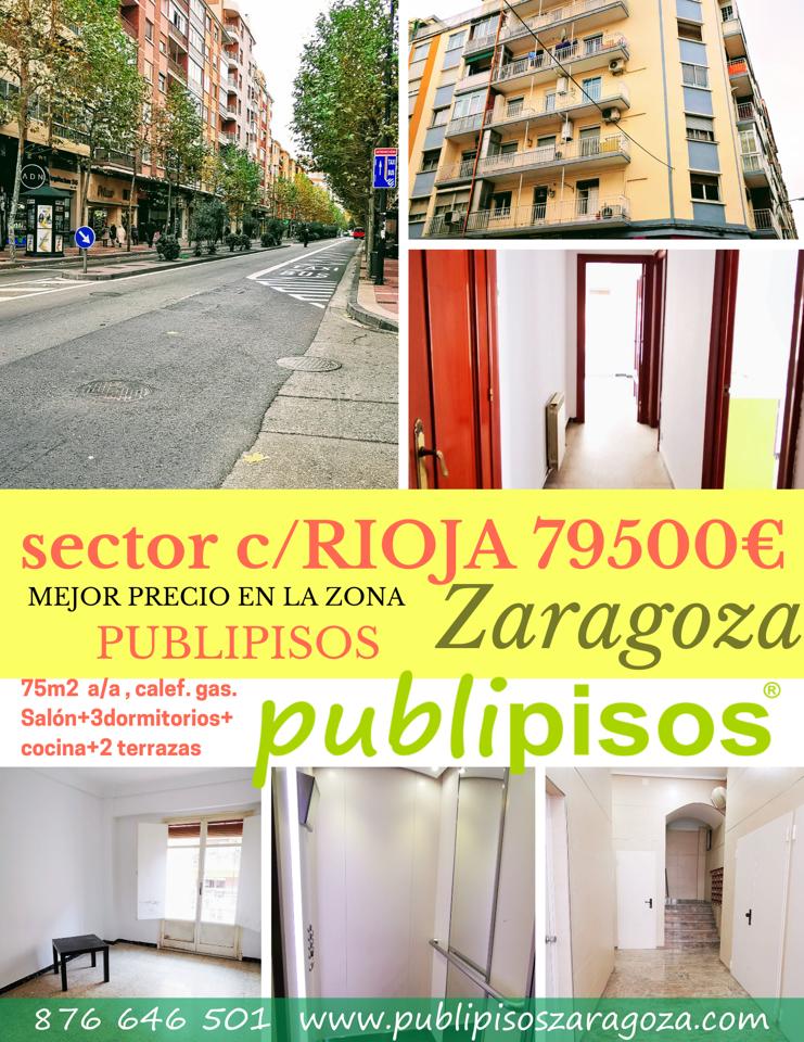 Venta piso estación Delicias Zaragoza