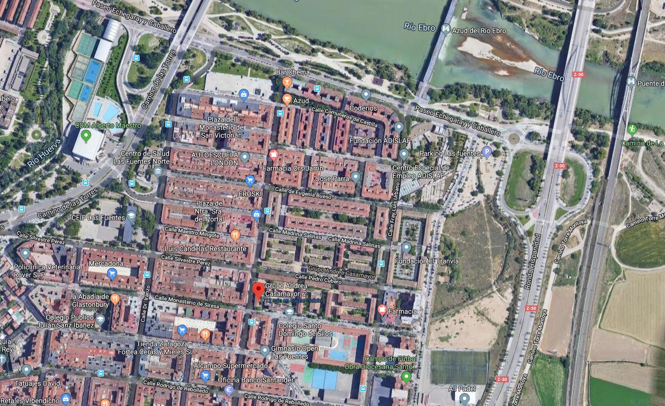 Piso venta económico Las Fuentes Zaragoza-2