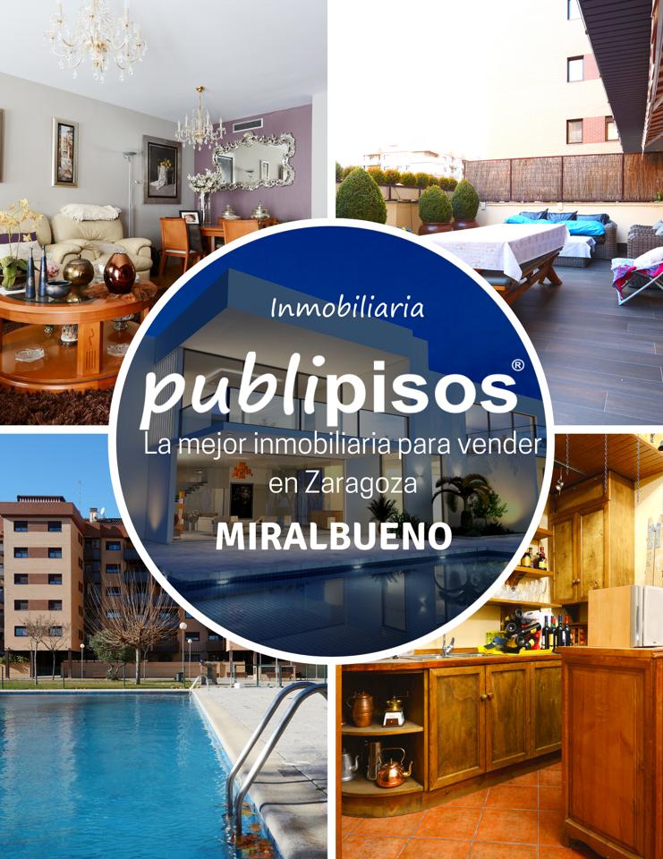 Comprar piso Miralbueno con bodega Zaragoza