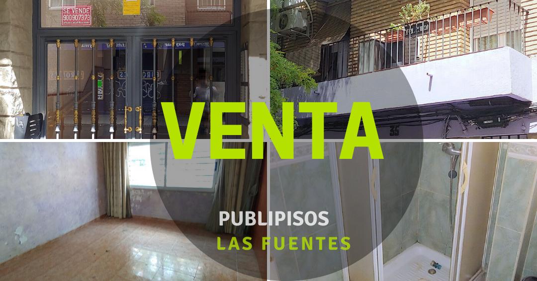 Piso venta económico Las Fuentes Zaragoza-0