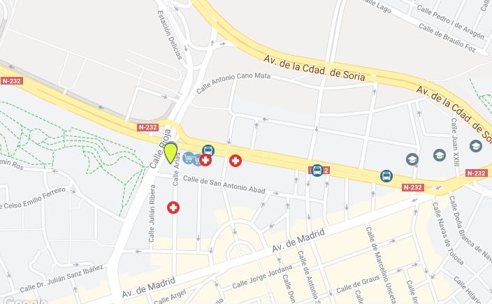 Piso alquiler con garaje calle Rioja estación-26