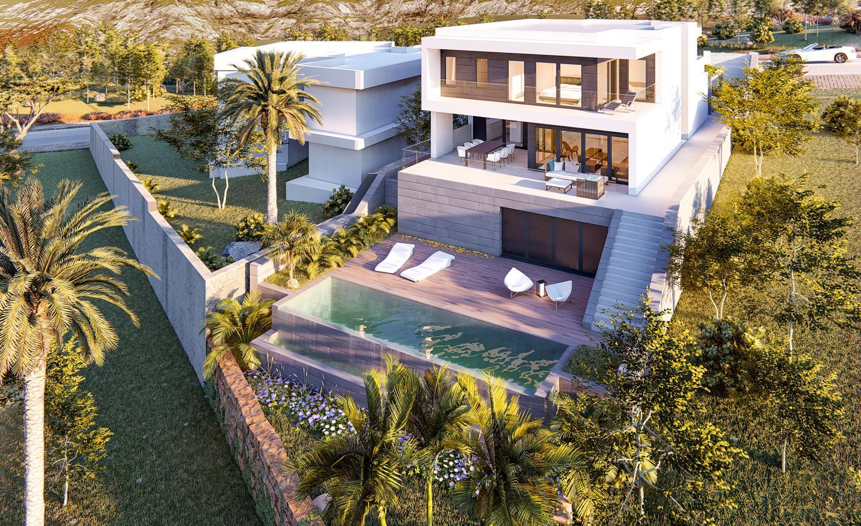 Ref: P017. Casa / Chalet  en Las Lagunas de Mijas