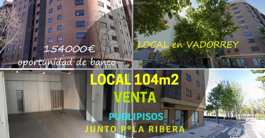 Local en venta Vadorrey Zaragoza