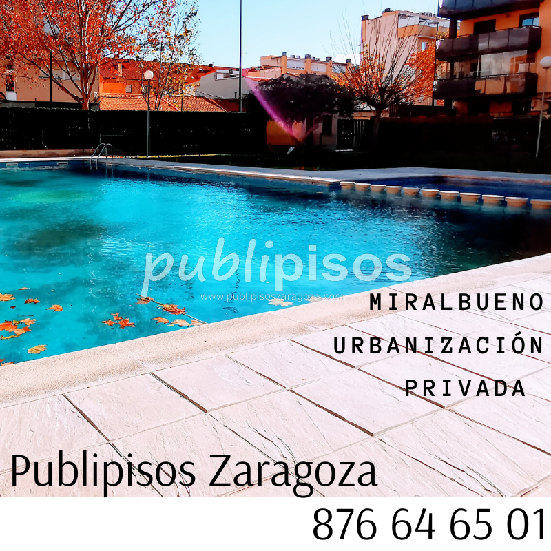 Piso en Miralbueno con piscina-1
