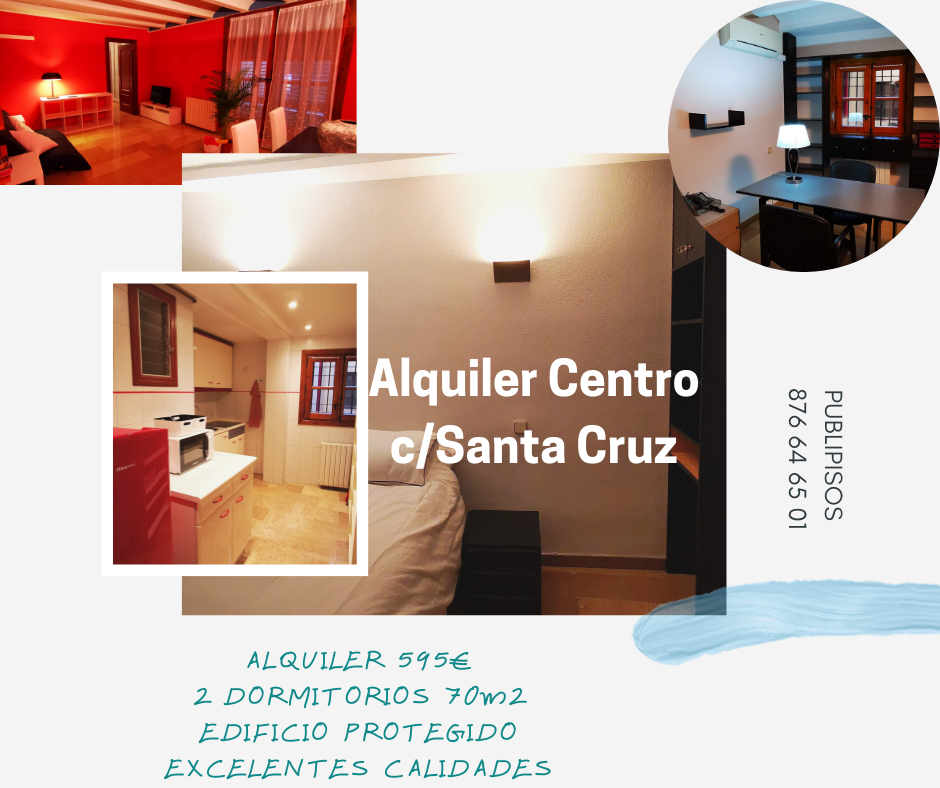 Alquiler centro histórico Zaragoza
