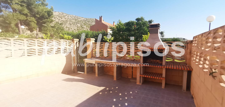 Venta de chalet con piscina y jardín Cuarte Cadrete-19