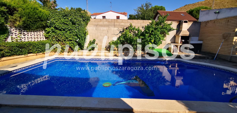 Chalet en venta con piscina en Cadrete-6