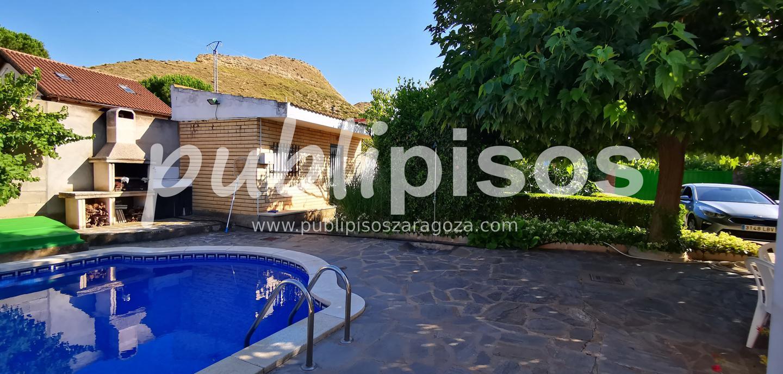 Chalet en venta con piscina en Cadrete-8