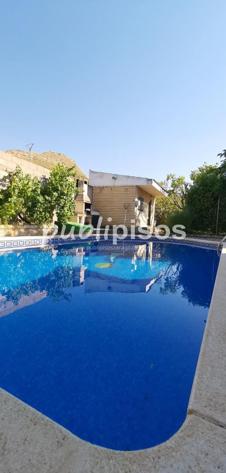 Chalet en venta con piscina en Cadrete-3