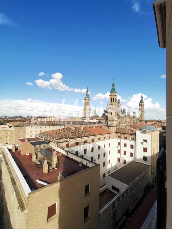 Piso alquiler con vistas Plaza del Pilar-1