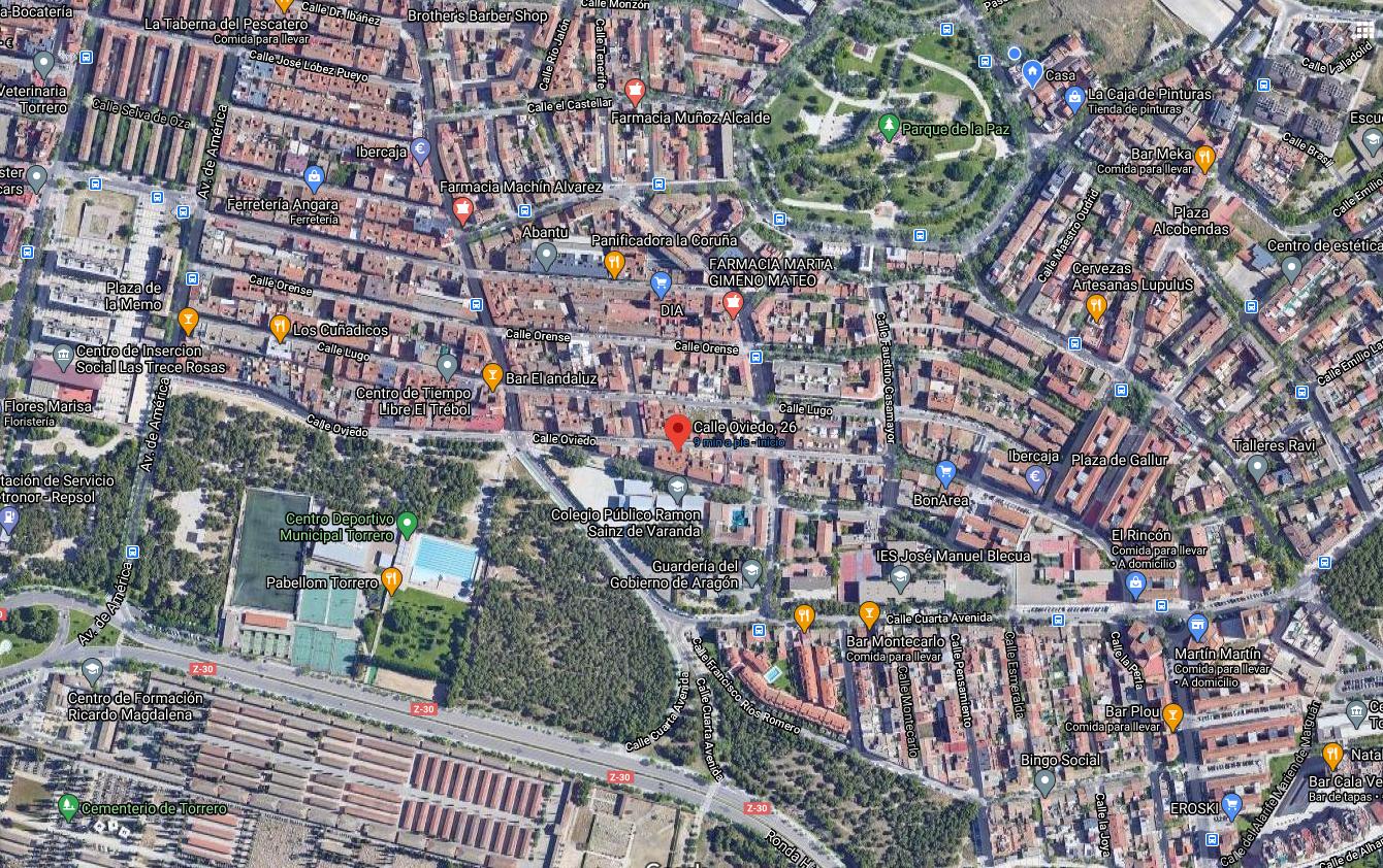 Venta de piso en calle Oviedo Torrero-17