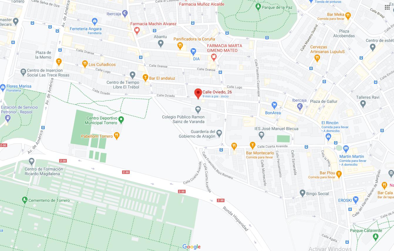 Venta de piso en calle Oviedo Torrero-18