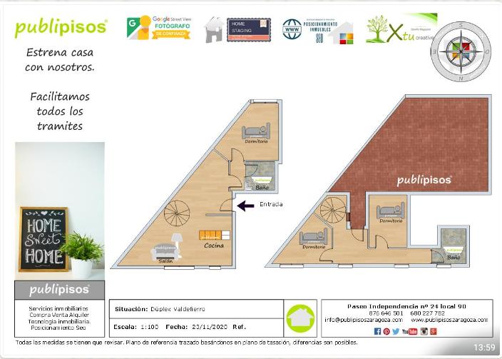 Alquiler Ático en Valdefierro Zaragoza-49