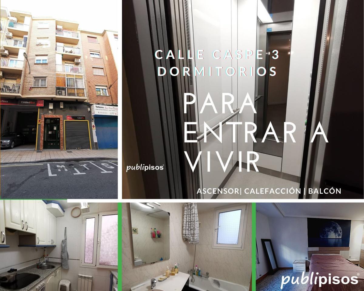 Piso venta calle Caspe Delicias Zaragoza