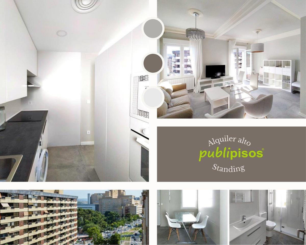 Alquiler piso reformado junto Miguel Servet