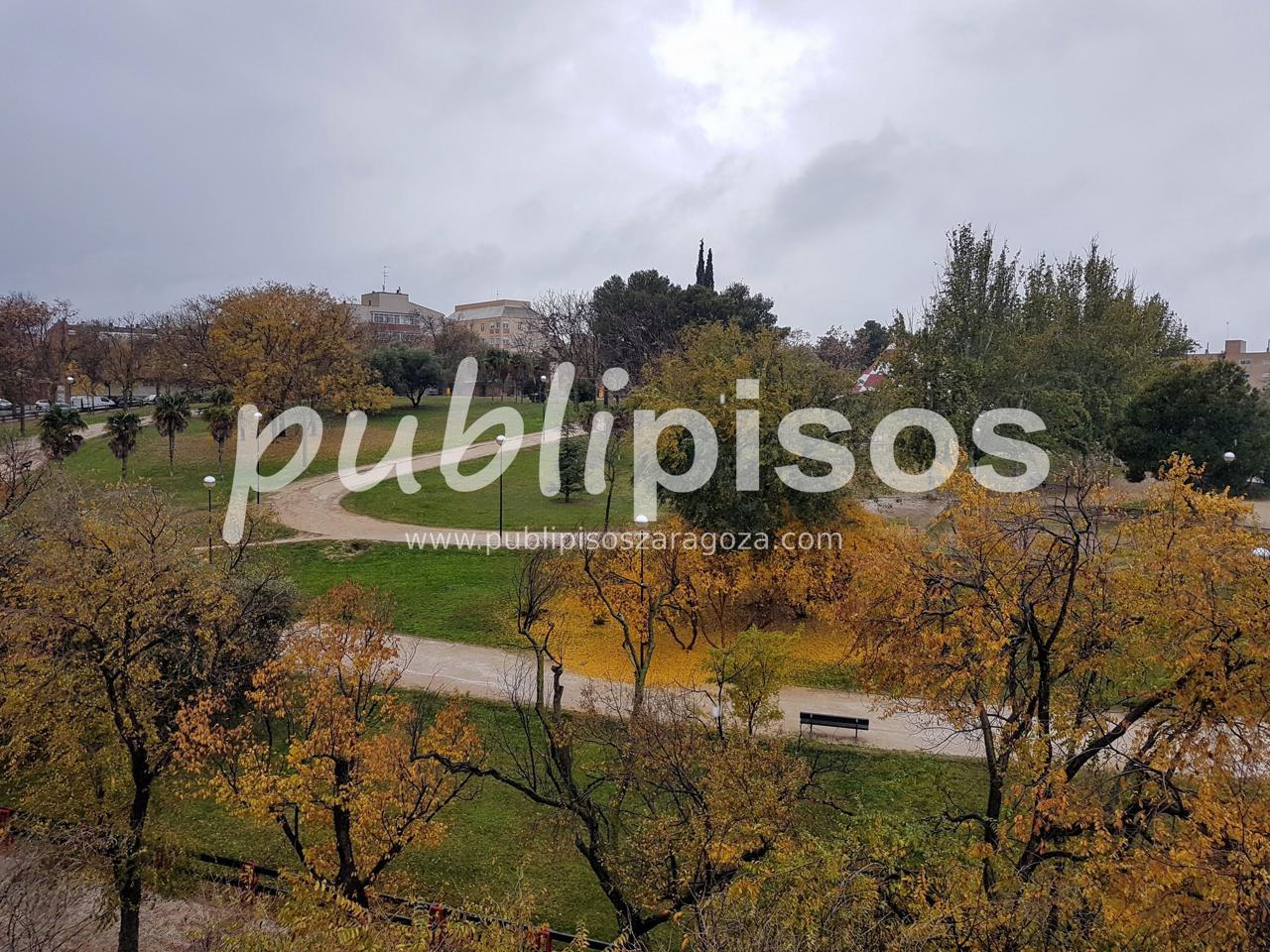 Piso en el parque de La Paz junto al Canal-5