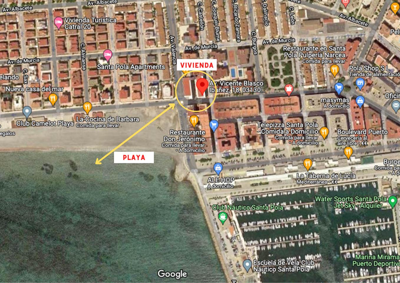 Piso en venta en Santa Pola, Centro Puerto – #2344