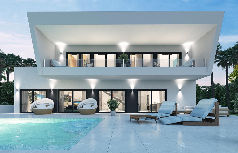Contemporary Villa Project in Valle del Sol , Guadalmina