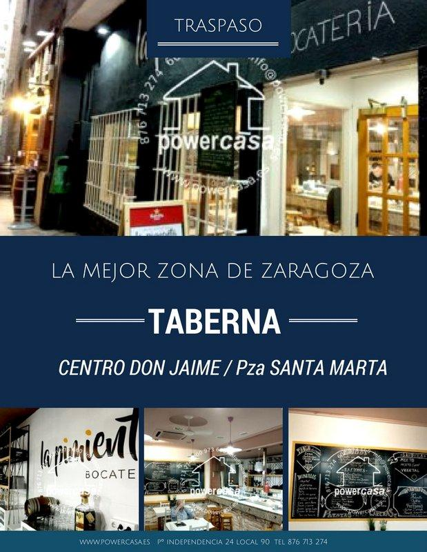 Traspaso taberna Centro Historico Zaragoza | PUBLIPISOS